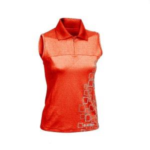 Дамска спортна тениска HI-TEC Motueka Wo s, Червен