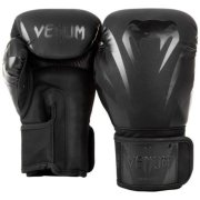 Боксови ръкавици VENUM IMPACT BOXING GLOVES BLACK BLACK