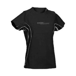 Дамска тениска HI-TEC Cliona Wo s, Черен