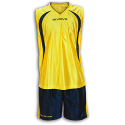 Екип за баскетбол GIVOVA Kit Jordan