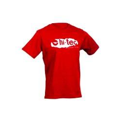 Мъжка спортна тениска HI-TEC Bosfor, Червен