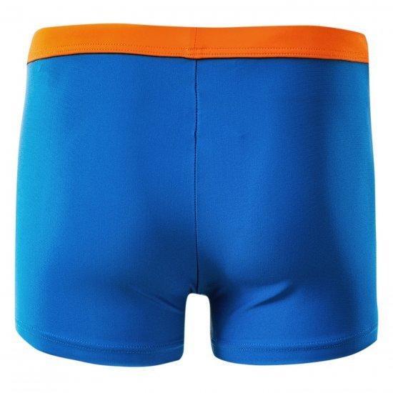 Детски бански боксер AQUAWAVE Mar Jr, Тъмно син/оранжев