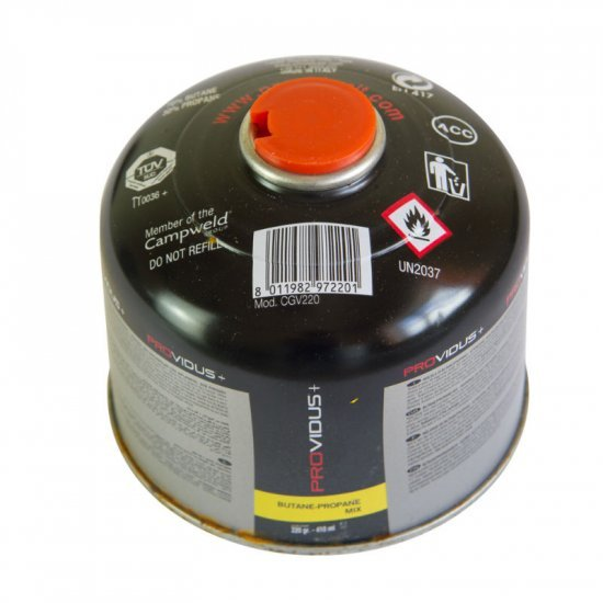 Газова бутилка PROVIDUS+  220 г