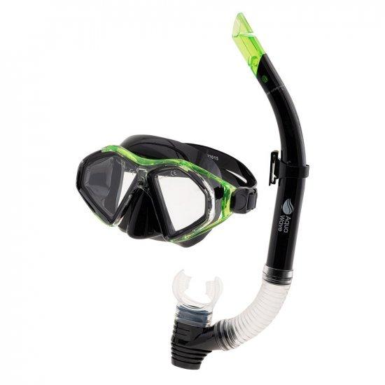Кoмплект маска и шнорхел AQUAWAVE Vanua Set