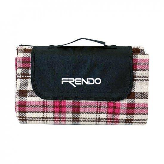 Одеяло за пикник FRENDO, Розов