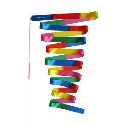 Лента за художествена гимнастика MAXIMA 6м х 5см, Многоцветна