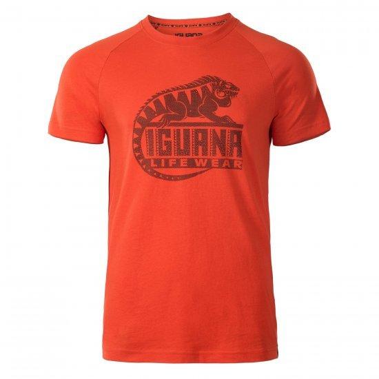 Мъжка тениска IGUANA Baaky II, Червен