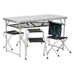 Туристическа маса с 4 стола VANGO