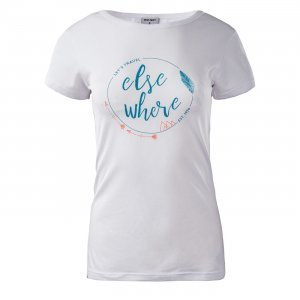 Дамска тениска HI-TEC Lady Elsea, Бял
