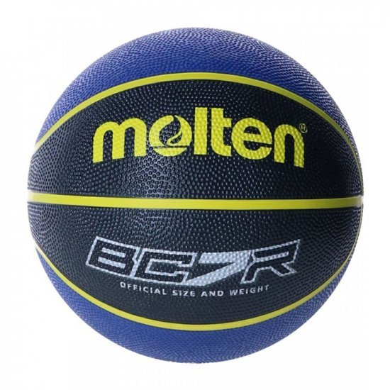 Баскетболна топка MOLTEN BC7R2, Черен/Син