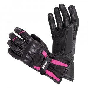 Мото ръкавици W-TEC Pocahonta, Черен/Розов