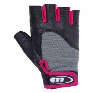 Дамски фитнес ръкавици MARTES Mitra, Черен/Циклам