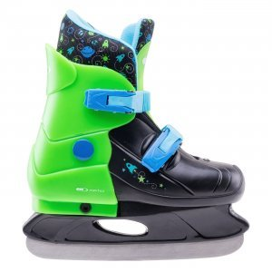 Детски кънки за лед MARTES Gagarin, Черен/Зелен