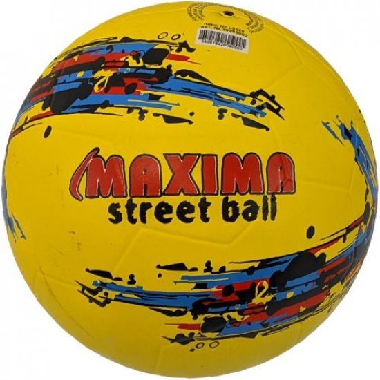 Гумена футболна топка MAXIMA Street, размер 5