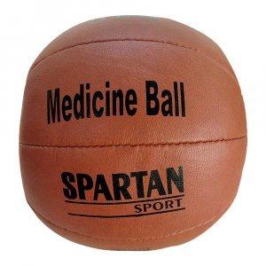 Кожена медицинска топка SPARTAN 3 кг