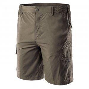 Къс мъжки панталон HI-TEC Sammi, Маслинено зелен