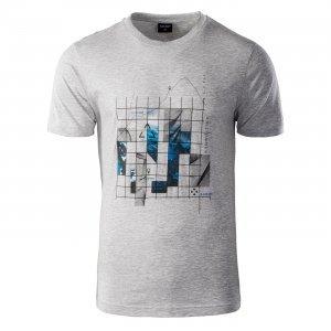 Мъжка тениска HI-TEC Nerod, Сив