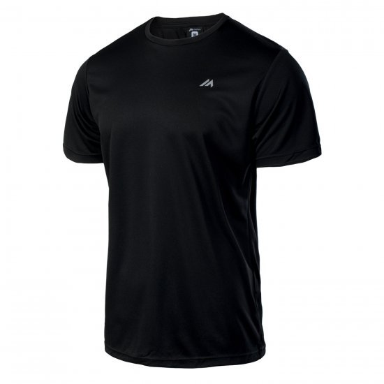 Мъжка тениска HI-TEC Solan, Черен