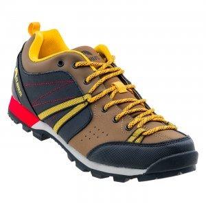 Мъжки ниски обувки ELBRUS Togato, Кафяв/Жълт