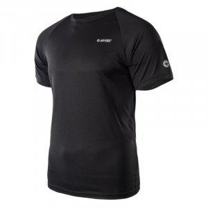 Мъжка тениска HI-TEC Makkio, Черен