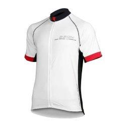 Тениска за колоездене BIZIONI MD21, Бял