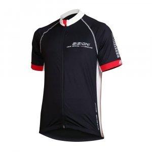 Мъжка вело тениска BIZIONI MD21, Черен