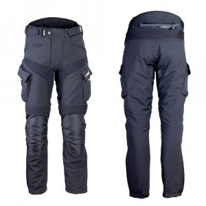 Мъжки мото панталони W-TEC Erkalis GS-1729, Черен