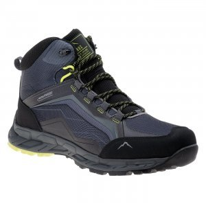 Мъжки обувки ELBRUS Embawa MID WP, Сив/Черен/Лайм