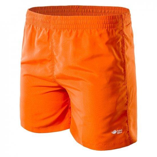 Мъжки плувни шорти AQUAWAVE Apeli, Оранжев