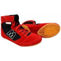 Обувки за борба - борцовки MAXIMA, червени