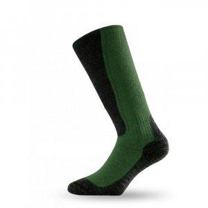 Вълнени термо чорапи LASTING WSM, Зелен