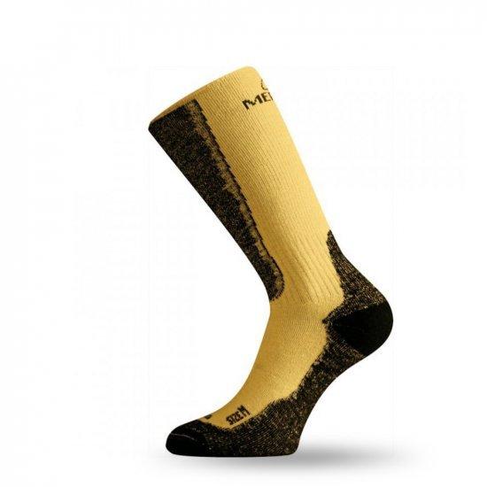 Термо чорапи LASTING WSM, Жълт