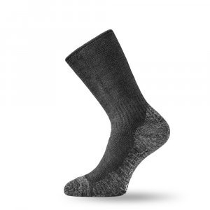 Вълнени термо чорапи LASTING WSM, Сив