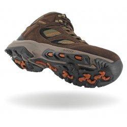 Мъжки високи обувки HI-TEC Pine Ridge WP, Шоколад