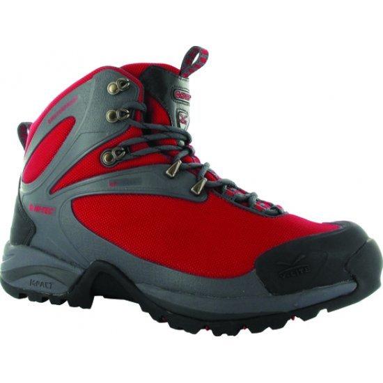 Мъжки високи обувки HI-TEC V-lite Mach 4 WPi, Червен