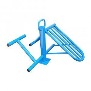 Уред за корем и кръст за фитнес на открито