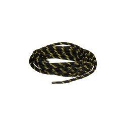 Връзки за обувки-обли Lomer 130 см, Черен