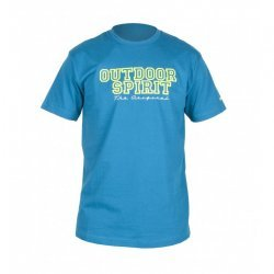 Тениска HI-TEC Spirit син изумруд