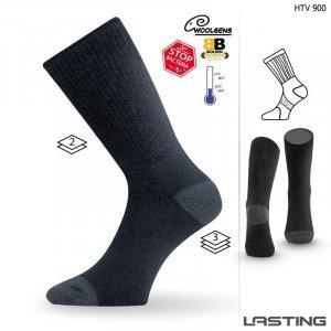Термо чорапи LASTING HTV, Черен