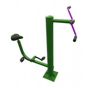 Комбиниран велоергометър за фитнес на открито