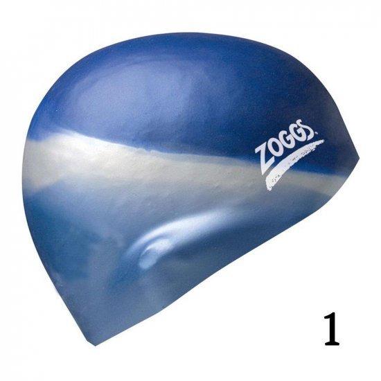 Плувна шапка ZOGGS Multi Colour Silicone