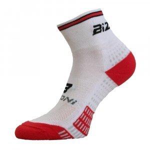 Чорапи за колоездене BIZIONI BS24, Бял