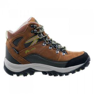 Мъжки високи обувки ELBRUS Skylar Mid WP, Кафяв/Маслина