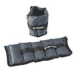 Регулируеми тежести за китки и глезени inSPORTline Grey 2x1 кг