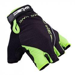 Вело ръкавици W-TEC Kauzality AMC-1043-18 - Black-Green
