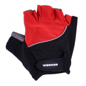 Вело ръкавици WORKER S900, Червен