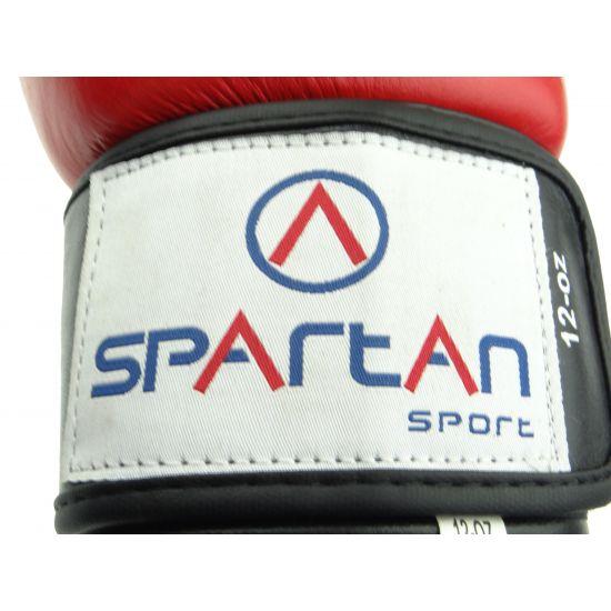 Боксови ръкавици SPARTAN естествена кожа