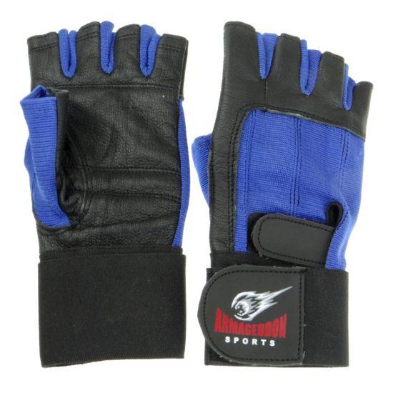 Фитнес ръкавици  с накитници  ARMAGEDDON SPORTS, Син