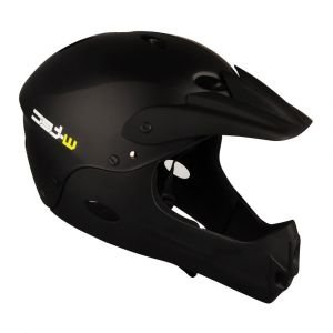 Велосипеден шлем W-TEC Downhill, Черен