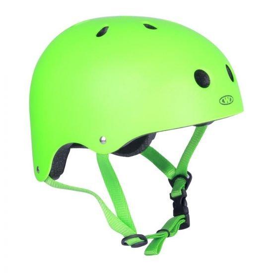 Freestyle каска за деца и възрастни WORKER Neonik, Зелен
